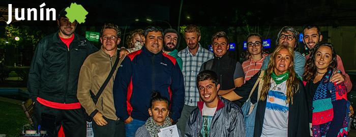 #AIRE – Mestiza realizó su transmisión inaugural desde la plaza 25 de Mayo
