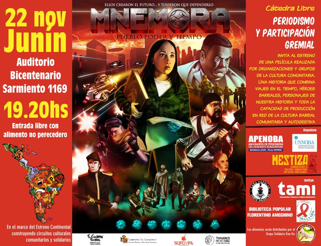 Mnémora se estrena en el Auditorio de la UNNOBA en Junín