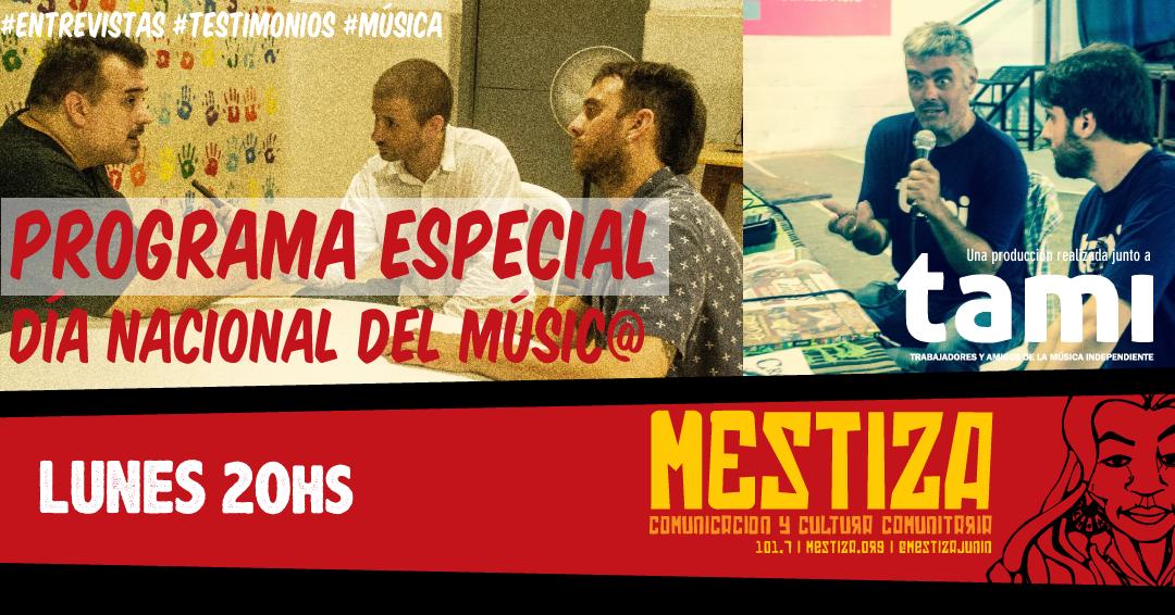 Programa especial en el marco de los festejos por el día del Músico en Junín
