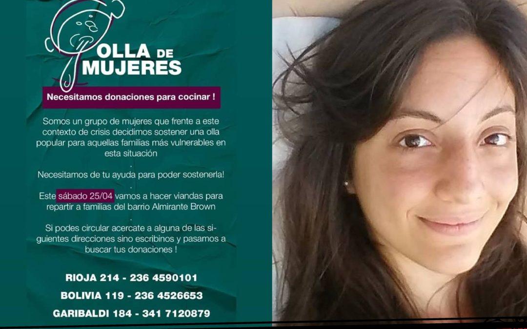 """""""Olla de mujeres"""", una iniciativa solidaria durante la cuarentena"""