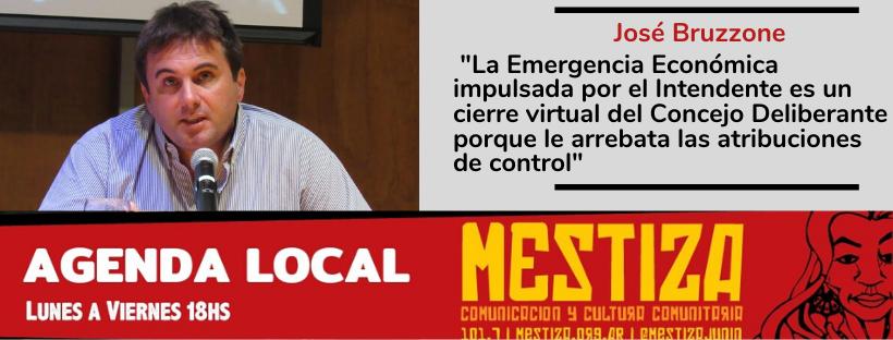 """""""La Emergencia Económica impulsada por el Intendente es un cierre virtual del Concejo Deliberante porque le arrebata las atribuciones de control"""""""