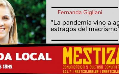 """""""La pandemia vino a agravar los estragos del macrismo"""""""