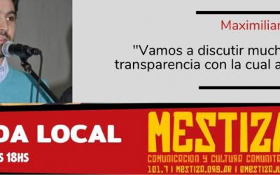 """""""Vamos a discutir mucho la falta de transparencia con la cual administra el Intendente"""""""