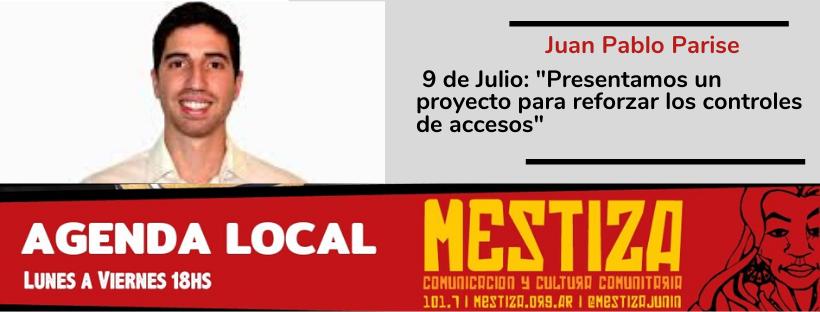 """""""En 9 de Julio presentamos un proyecto para reforzar el control de accesos"""""""
