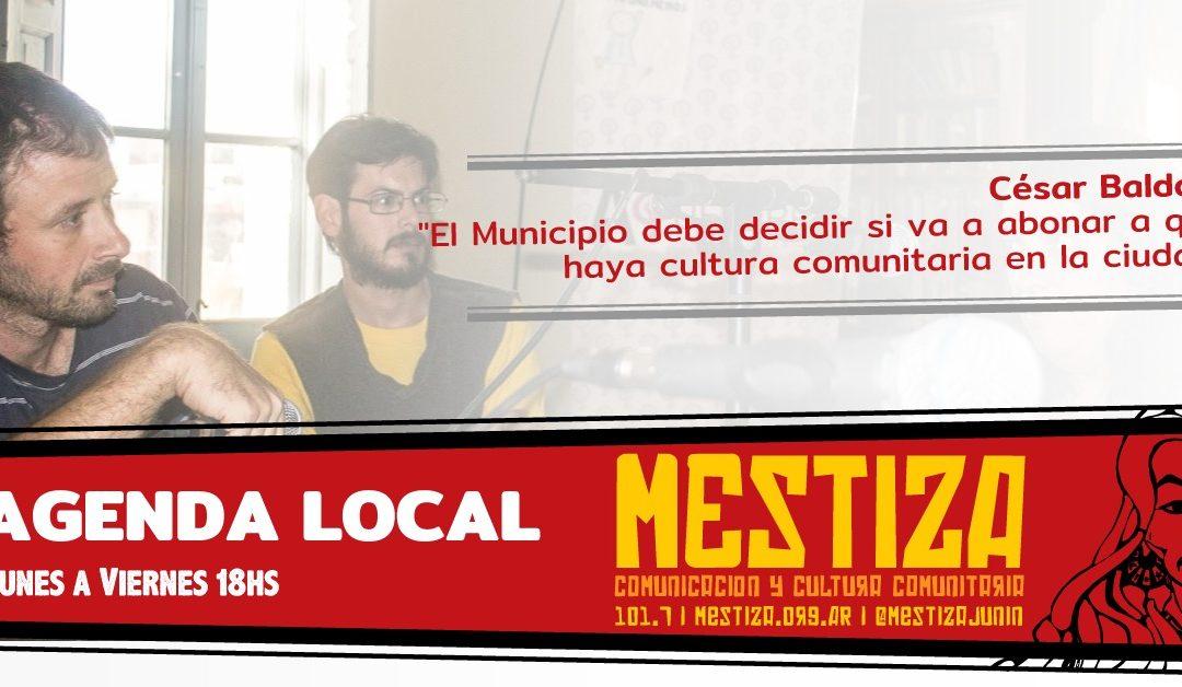 """""""El Municipio debe decidir si va a abonar a que haya cultura comunitaria en la ciudad"""""""