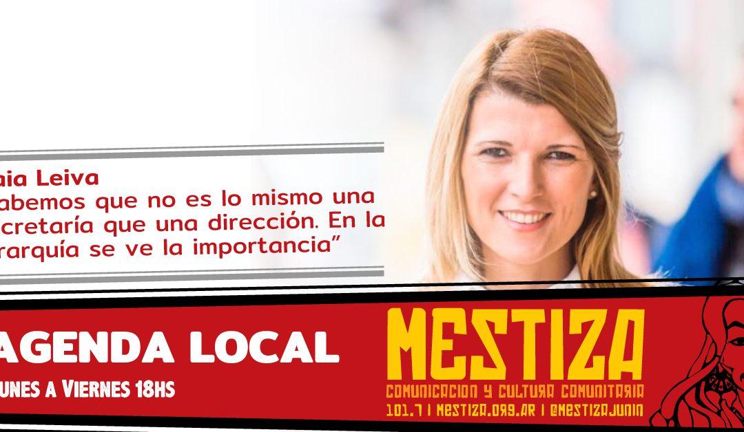 Maia Leiva repasó el trabajo de la Comisión de Género y Familia del Concejo Deliberante
