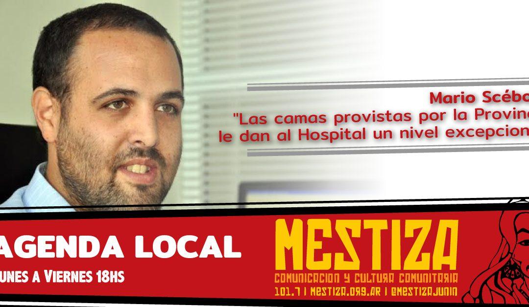 """""""Las camas provistas por la Provincia le dan al Hospital un nivel excepcional"""""""