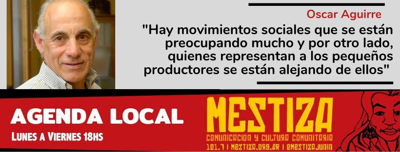 """""""Lo movimientos sociales que se están preocupando mucho; y quienes representan a los pequeños productores se están alejando de ellos"""""""