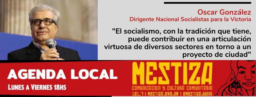"""""""El socialismo, con la tradición que tiene, puede contribuir en una articulación virtuosa de diversos sectores en torno a un proyecto de ciudad"""""""