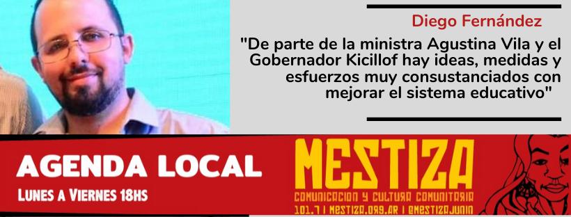 """""""De parte de la ministra Agustina Vila y el Gobernador Kicillof hay ideas, medidas y esfuerzos muy consustanciados con mejorar el sistema educativo"""""""