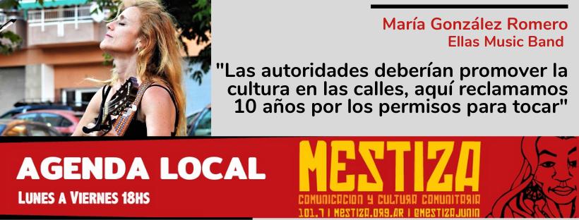 """""""Las autoridades deberían promover la cultura en las calles, aquí reclamamos 10 años por los permisos para tocar"""""""