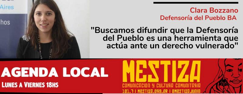 """""""Buscamos difundir que la Defensoría del Pueblo es una herramienta que actúa ante un derecho vulnerado"""""""