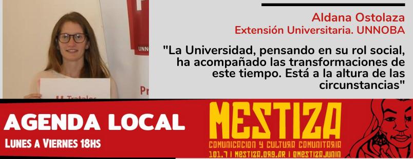 """""""La Universidad, pensando en su rol social, ha acompañado las transformaciones de este tiempo. Está a la altura de las circunstancias"""""""