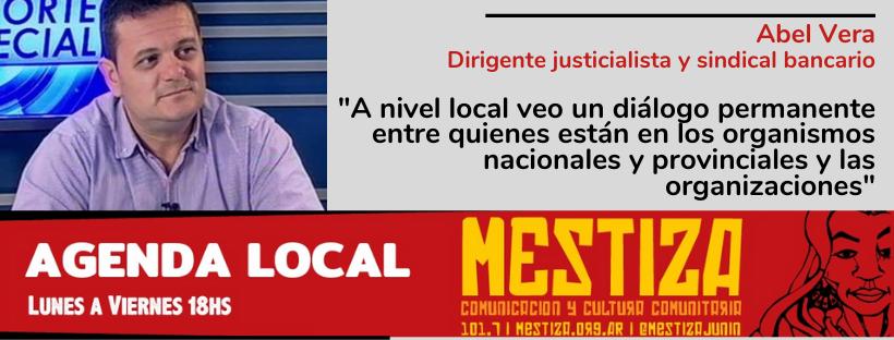 """""""A nivel local veo un diálogo permanente entre quienes están en los organismos nacionales y provinciales y las organizaciones"""""""