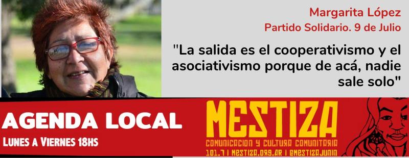 """""""La salida es el cooperativismo y el asociativismo porque acá, nadie sale solo"""""""