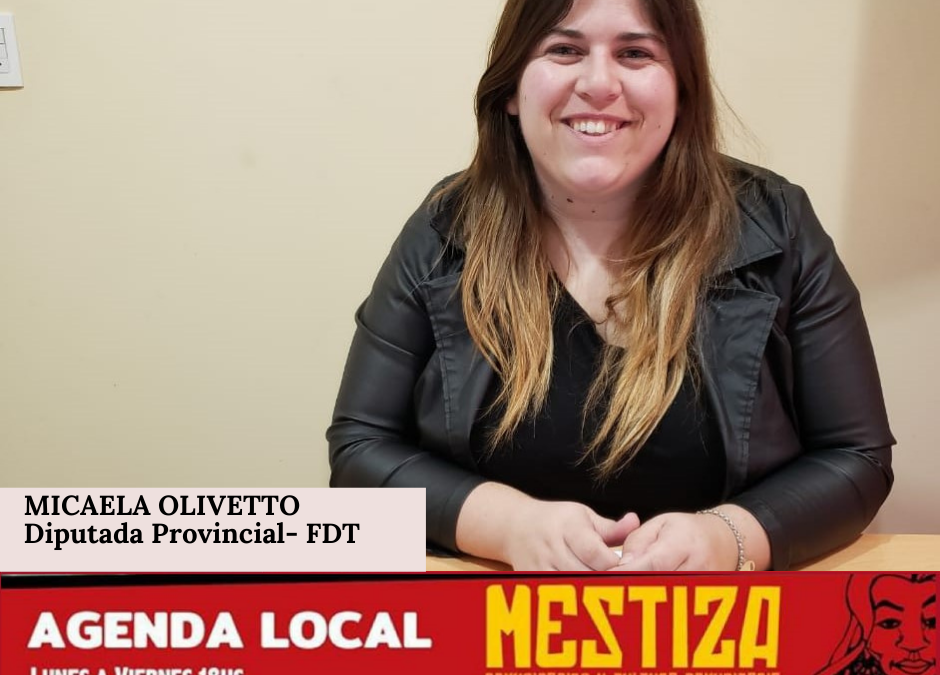 Mica Olivetto. Diputada Provincial