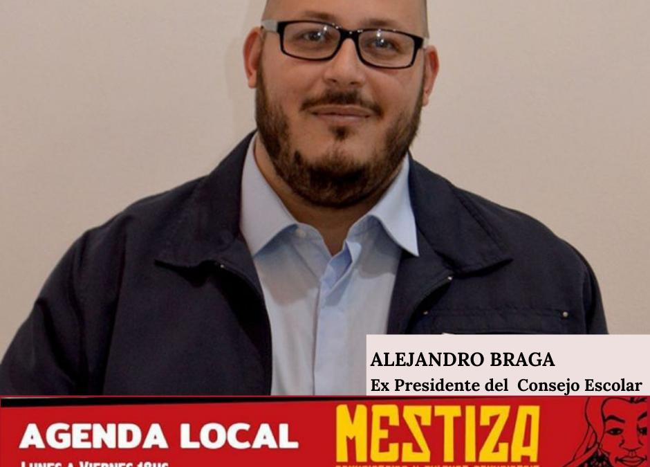 Alejandro Braga. Ex Presidente del Consejo Escolar.