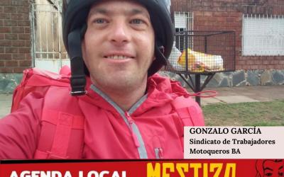 Gonzalo García- Secretario del SITMOBA