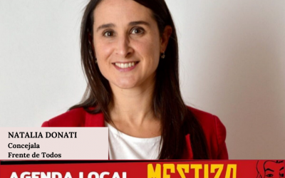 Natalia Donati. Concejala del Frente de Todos