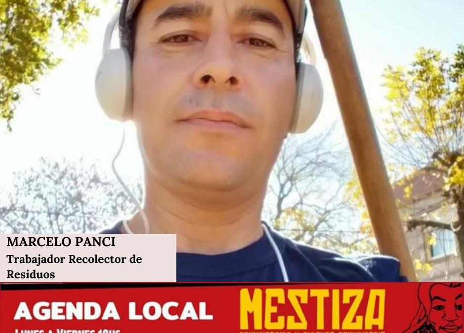 Marcelo Panci. Trabajador Recolector de Residuos