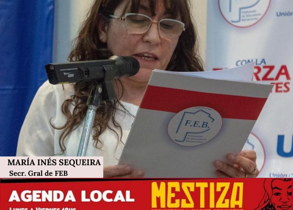María Inés Sequeira. Secretaria General de la FEB