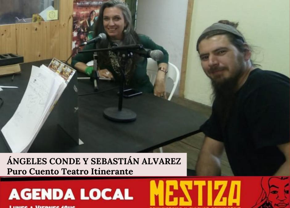 Ángeles Conde y Sebastián Álvarez