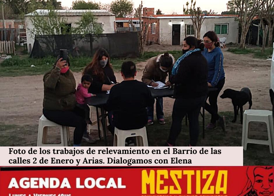 Elena, Barrio Calles 2 de Enero y Arias.