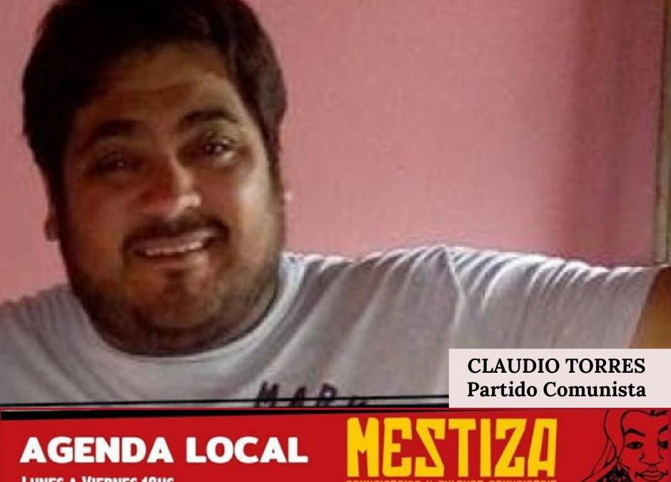 Claudio Torres. Partido Comunista