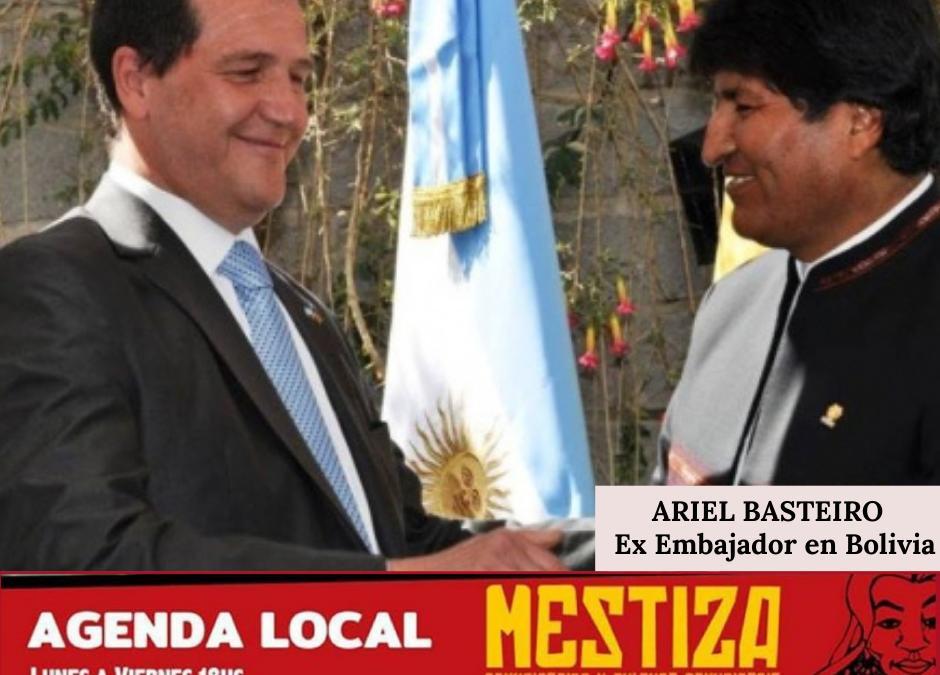 Ariel Basteiro. Ex Embajador en Bolivia