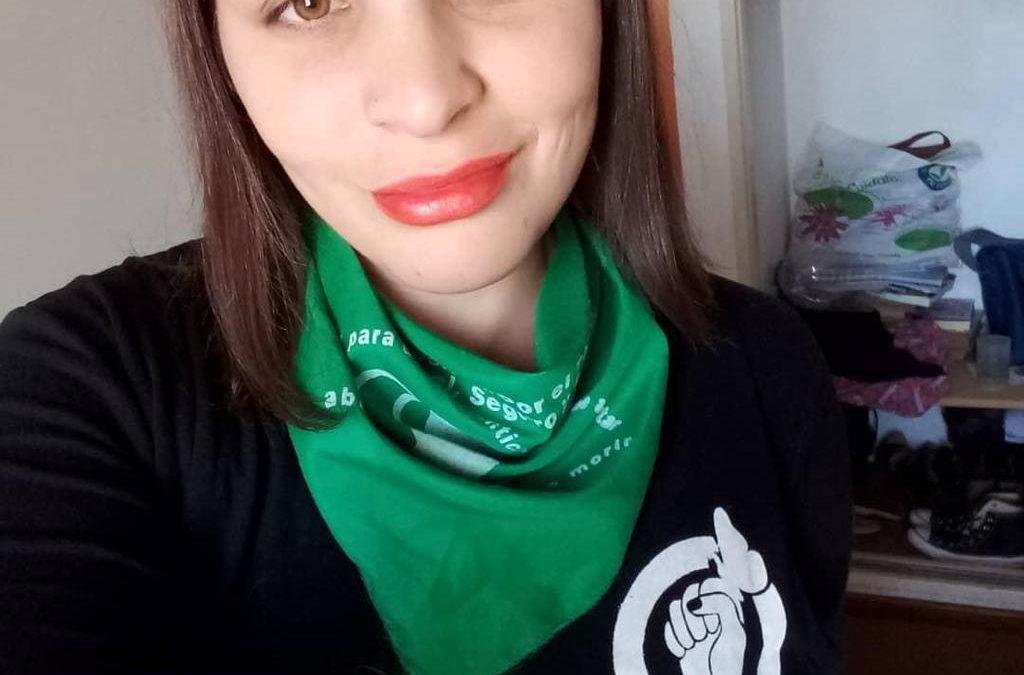 Yanina Bengoa, es activista feminista y Coordina la Casa de la Mujer en Lincoln
