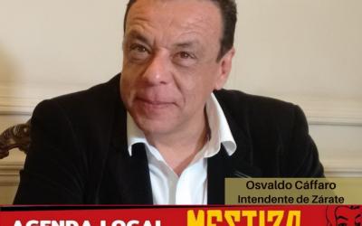Osvaldo Cáffaro – El Intendente de Zárate realiza un balance del año, como invitado especial en el cierre de La Agenda.
